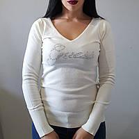 Женский свитер свитшот GUESS белый