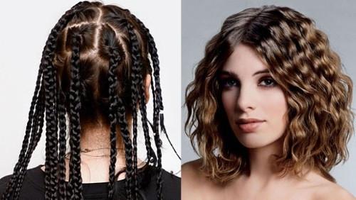 Как сделать волнистые волосы с помощью косичек 820