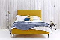 """Двоспальне ліжко """"Sunny"""" 160*200 з м'яким узголів'ям і гудзиками"""