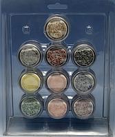 Набор цветных акрилов в блистере 10 шт ACN-00 YRE