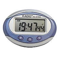 электронные  авточасы с будильником KD-8165