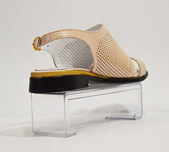 Босоножки женские пудра DS 248, фото 3