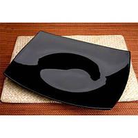 Quadrato Black.Тарелка десертная квадратная 19см Luminarc