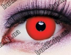 Красные линзы для глаз купить в интернет магазине недорого в Украине. Большой ассортимент. Бесплатная доставка