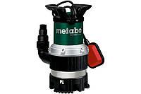 Погружной насос Metabo TPS 14000 S Combiдля грязной / чистой воды и откачки со дна 770Вт