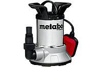 Погружной насос Metabo TPF 6600 SN для чистой воды и откачки со дна 450Вт