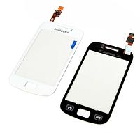 Тачскрин / сенсор (сенсорное стекло) для Samsung Galaxy Mini 2 S6500 (белый цвет)