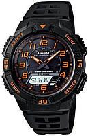 Мужские часы Casio AQ-S800W-1B2V Касио водонепроницаемые японские часы