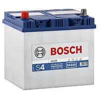"""Аккумулятор Bosch (J) S4 Silver 60Ah, EN 540 левый """"+"""" 232x173x225 (ДхШхВ)"""