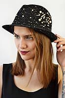 Шляпа женская модель Ибица черный