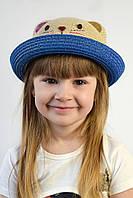 Шляпа детская Кошка синяя