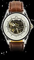 Мужские наручные часы Omega Silver, Омега Сильвер, Киев