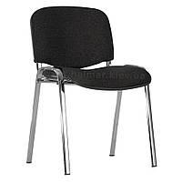 Кресло Halmar Iso черный/хром