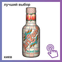Напиток Arizona Iced Tea with Peach холодный чай с персиком 500ml
