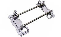 Настенная монтажная рама PROFIL 95mm с пластиковыми адаптерами для 10 (15) плинтов типа LSA-Profil ADC-KRONE