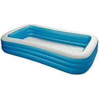 Детский надувной прямоугольный бассейн Intex 58484 (183Х305Х56 см) ZN
