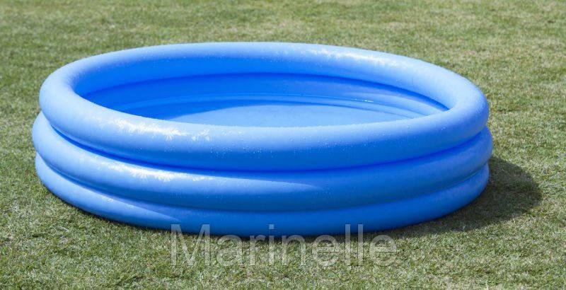 Детский надувной бассейн Crystal Blue Intex 58426 (147Х33 см) HN - Marinelle в Харькове