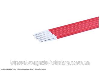 Спицы носочные Zing KnitPro 20 см | 2.5 мм