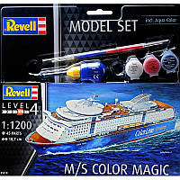 Подарочный набор c моделью корабля M/S Color Magic (код 200-439991)