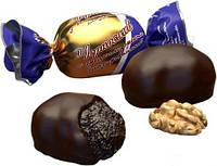 Конфеты Чернослив с грецким орехом глазурованный Премиум (Фас. 1 кг)