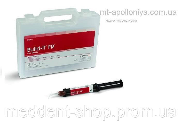 Build-It F.R (4,8мл/8.6г).материал для создания культи зуба,и фиксации штифтов