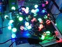 Новогодняя гирлянада на елку 5 м, светодиодная гирлянда