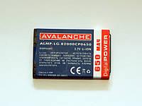АКБ Avalanche для LG B2000, B2050, B2070,KG240 - 650 мАч
