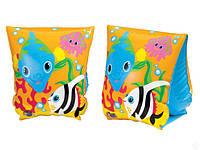 Нарукавники для плавания Тропические рыбки Intex 58652 (23х15 см) КК