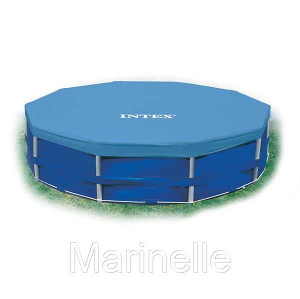 Тент защитный для каркасного бассейна диаметром 305 см Intex 28030 HN - Marinelle в Харькове