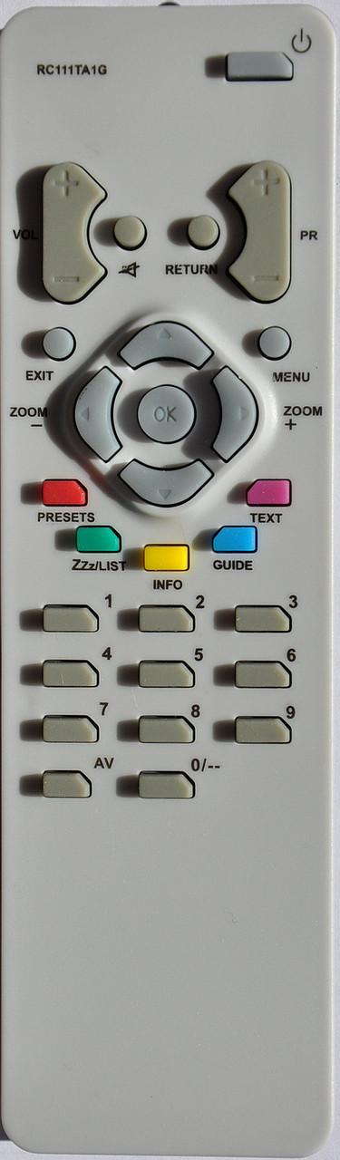 Пульт для телевизора THOMSON. Модель RCT-111TA1G