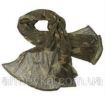Маскувальний шарф-сітка 190*90 cm. у забарвленні DPM. Mil-tec, Німеччина.