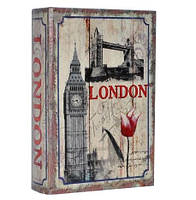 """Сейф-книга  """"Лондон""""  Размеры: 27-18-7 см"""