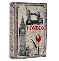 """Сейф-книга  """"Лондон""""  Размеры: 27-18-7 см, фото 1"""