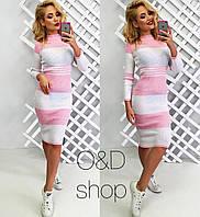 Женское красивое платье-резинка , 2 цвета