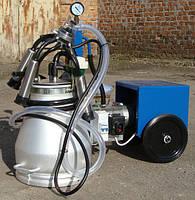 Доильный аппарат Стелла АИД-1Р масляный, стаканы нержавейка, доильный аппарат аид 1, мехдойка