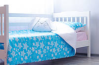 """Детское постельное """"Звездопад с розовым"""" (190х90), фото 1"""