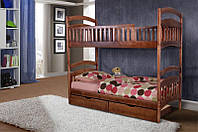 Двухъярусная кровать Кира с ящиками