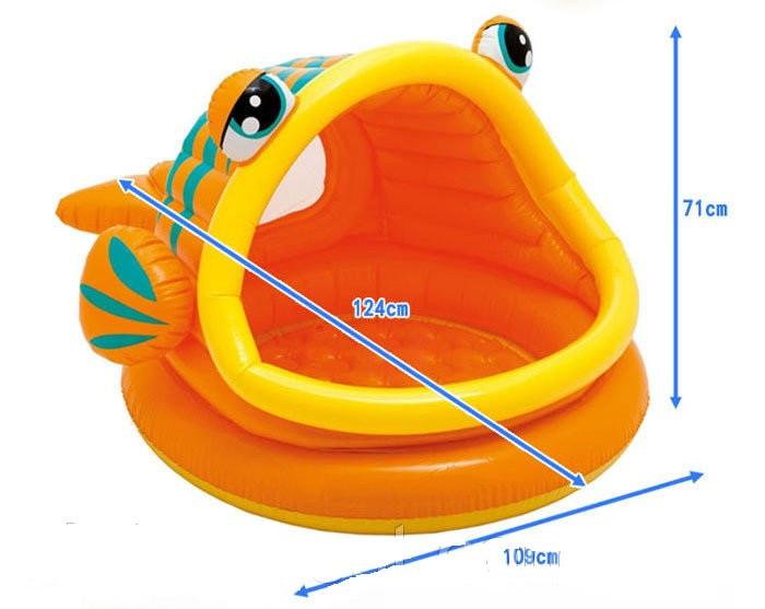 """Детский бассейн """"Рыбка"""" Intex 57109, интекс"""