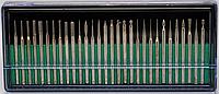 Набор насадок для фрезера 30 шт.(мет.алмаз) YDM-14 YRE