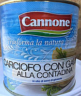 Артишоки в собственном соку Cannone (Каноне) 2,650kg