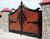 Кованые  ворота в Симферополе