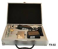 Фрезер 12000 в алюминиевом чемодане FX-02, фрезер YRE, маникюрный фрезер