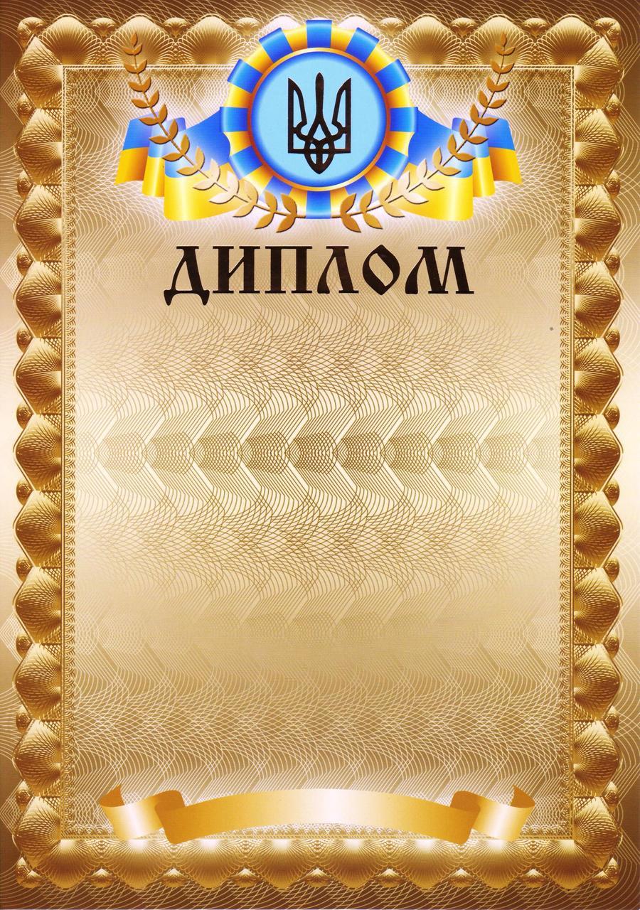 Диплом КД 3001 Золотые буквы
