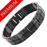 Магнитный браслет - Премиум Топ Люксор (black)