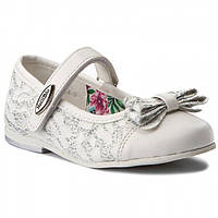 Туфли для девочки белые нарядные