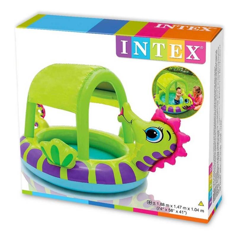"Детский бассейн ""Морской конек"" Intex 57110, интекс 188х147х104 см"