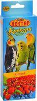 Корм папуг  нектар крекер ягодный - 2*50 г. Лори