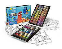 Crayola Набор для творчества 125 предметов в поисках Дори Finding Dory Creativity Kit
