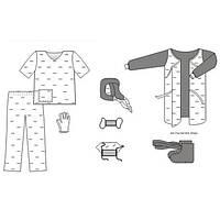 Комплект одежды АНТИ-СПИД № 3 TK-AID03