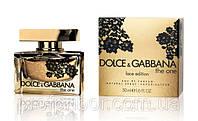Женская туалетная вода Dolce&Gabbana The One Lace Edition - утонченный цветочно-восточный аромат!